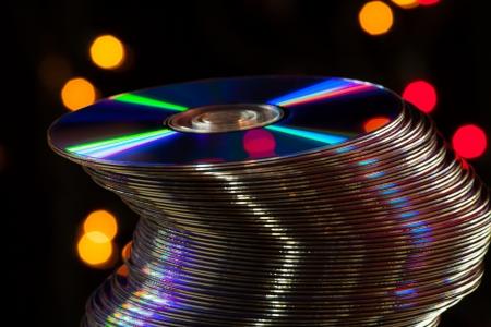 DVD blank digital storage