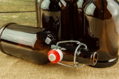 brew: home brew easy cap beer bottles