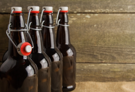brewed: home brew easy cap beer bottles