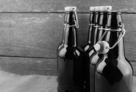 brewery: home brew easy cap beer bottles