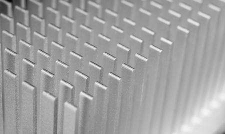 computer heat sync or cooling fins Banco de Imagens