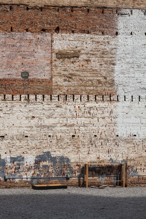 wall background texture of old brick buildings photo