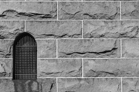 wall background texture of old stone buildings photo