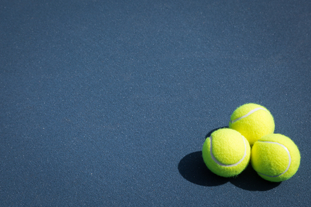 bounds: Tennis ball on the court