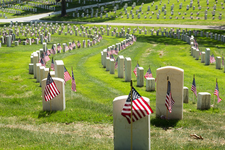 Marietta National Cemetery op Memorial Day