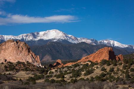 コロラド州の赤い岩 写真素材
