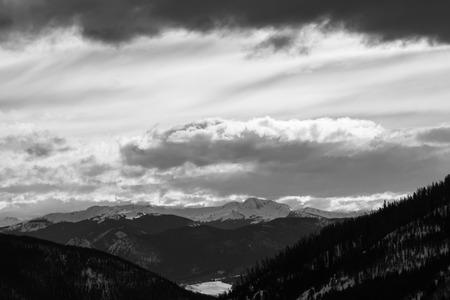 Loveland colorado ski mountain area snow Stok Fotoğraf