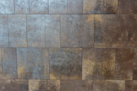 Empty wall texture with shiny reflective brick.