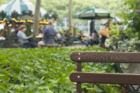 Bryant park background wallpaper high res bench with people leusure concept relaxing in the city natural resources and casual atmosphere upscale new york.