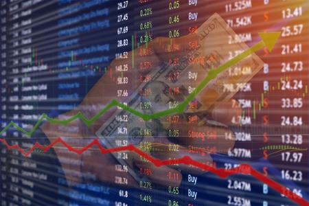 증권 거래소 및 암호 해독 거래 이익이 증가하고 상승합니다.