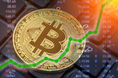 Bitcoin exchange rising values and profits for BTC cryptocoin owners on exchanges everywhere.  Increased values of currency trading.