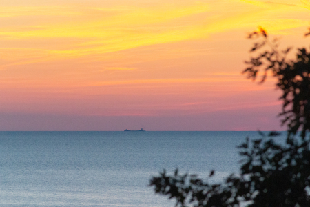 Northern Michigan tour and travel destinations for summer and fall. Stock Photo