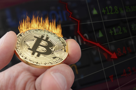 Bitcoin price crashes as holders lose confidence.