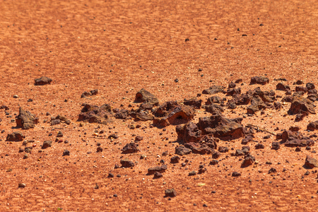 Mars concept red planet exploration and other planets in our solar system looking for alien life.