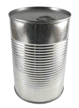 pulltab: close up on a tin can