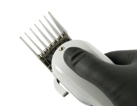 hair clippers: Close up on hair clippers
