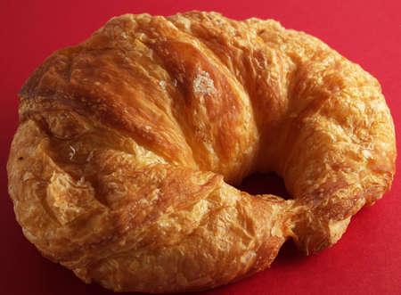 flack: a close-up on a croissant