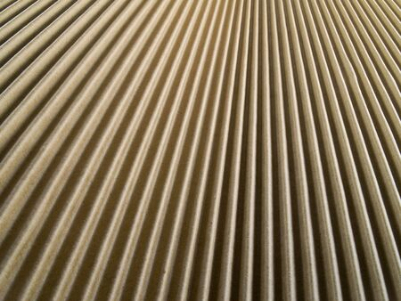 a close-up on cardboard Stock Photo