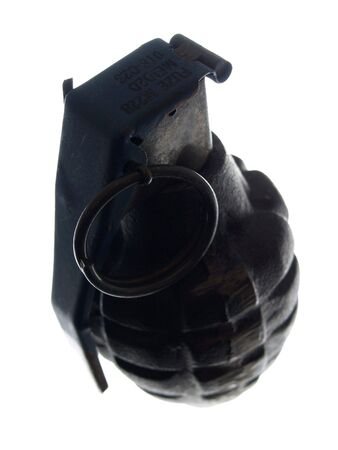 obliteration: close-up on a grenade