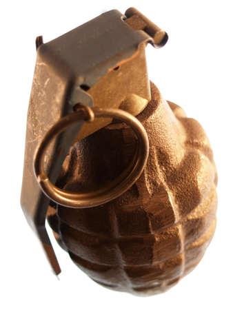 bombard: close-up su una granata  Archivio Fotografico