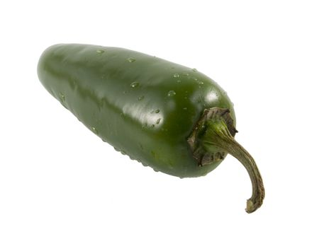 a close-up on a jalapeno pepper