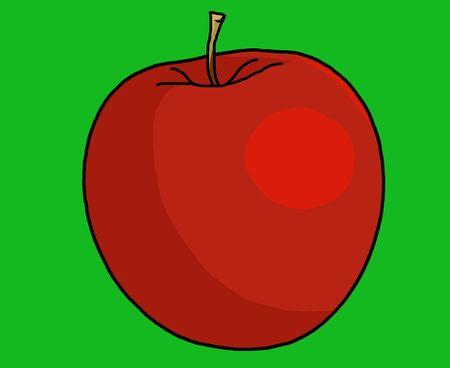 アップルのイラスト