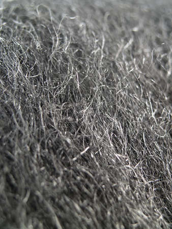 close-up on steel wool