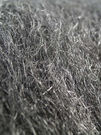 close-up van staalwol