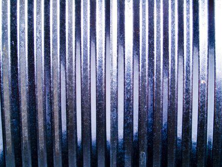 aluminum: A close up on a piece of aluminum sheet metal.