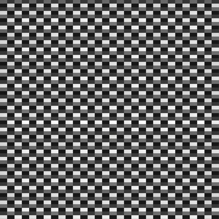 An illustration of a sheet of carbon fiber. This texture is tileable, would be great for high resolution 3d textures.
