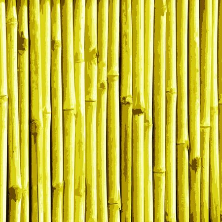 An illustration of a yellow bamboo texture.