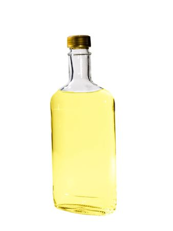 A close up on a bottle of Tequila isolated on a white background. Reklamní fotografie