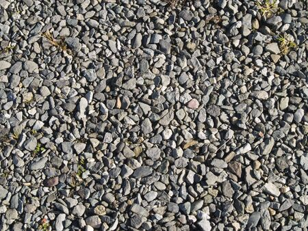 A close up on a gravel background texture. Stock Photo - 3125608