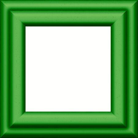 A 2d illustration of a square frame.