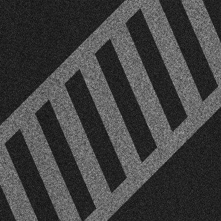 a 2d illustration of a crosswalk lines on pavement.  illustration