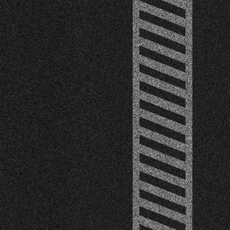 black textured background: a 2d illustration of a crosswalk lines on pavement.