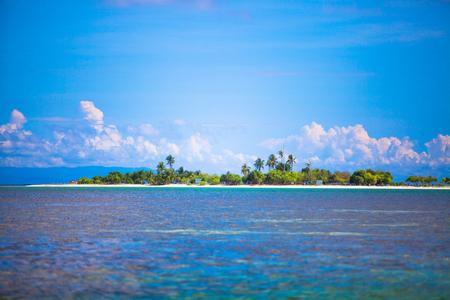 uninhabited: Beautiful tropical uninhabited island at Philippines