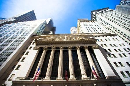 new york stock exchange: New York Stock Exchange nel distretto finanziario di Manhattan