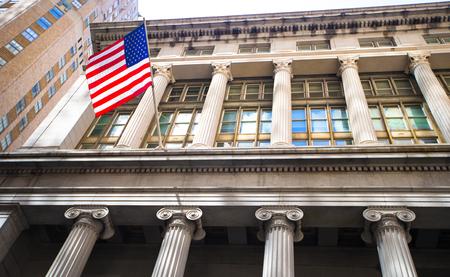 new york stock exchange: New York Stock Exchange in Manhattan Finance district