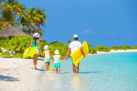 家族: 家族での休暇 写真素材