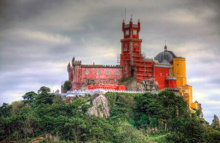 palacio: Pena National Palace in Sintra, Portugal (Palacio Nacional da Pena Editorial