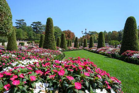 parque del buen retiro: Park Buen-Retiro (Parque del Buen Retiro) in Madrid, Spain