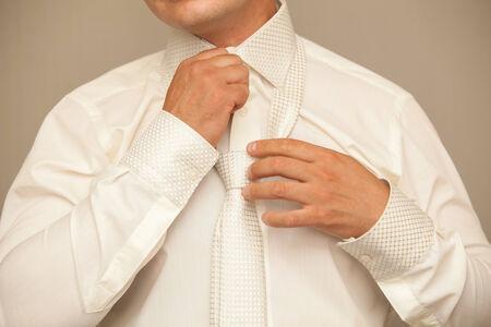 formal shirt: business man wears a shirt