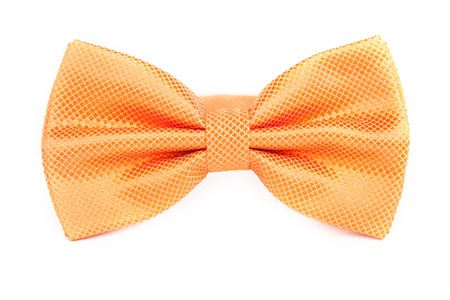 orange tie bow for party, birthday funny bow.