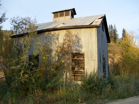 reclaimed shack in klondike Zdjęcie Seryjne - 29353482