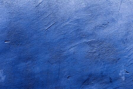 Background of a abstract, grungy blue wall