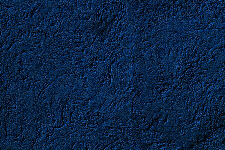 Dark blue wall texture for background or wallpaper