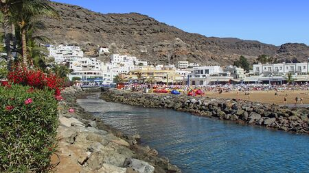 Puerto de Mogan, in the south west of spanish canary island Gran Canaria