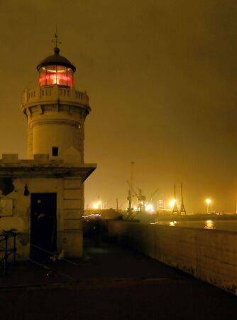 lighthouse in the night Stock Photo - 1126978