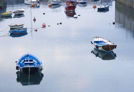 image of old sea fishing boats Stock Photo - 1719658